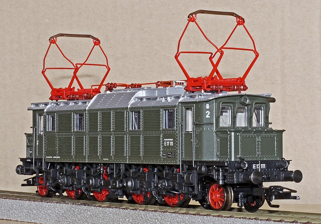 Wagon d'un train éléctrique