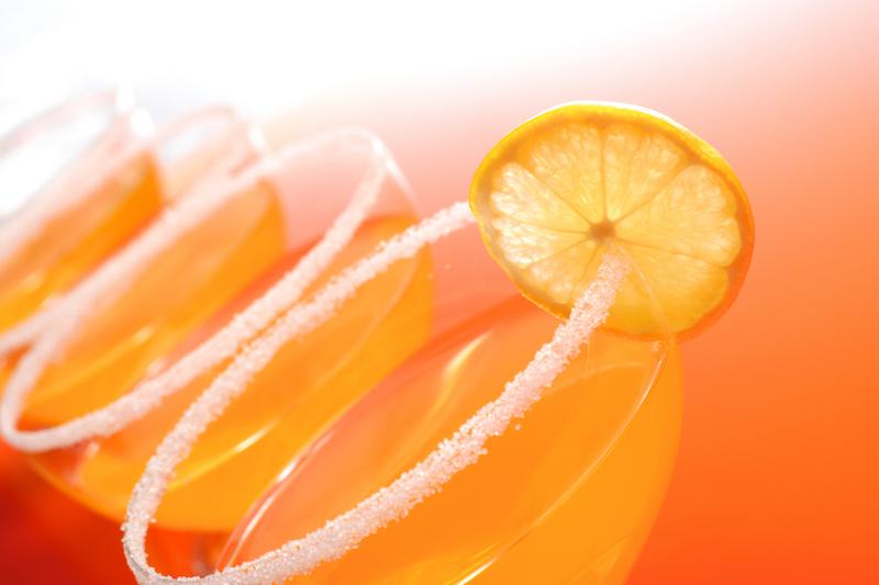 Un zeste d'orange