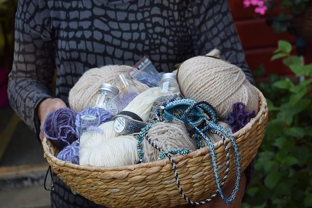 Prêt pour apprendre à tricoter