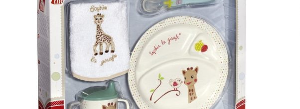 Coffret repas Sophie La Girafe