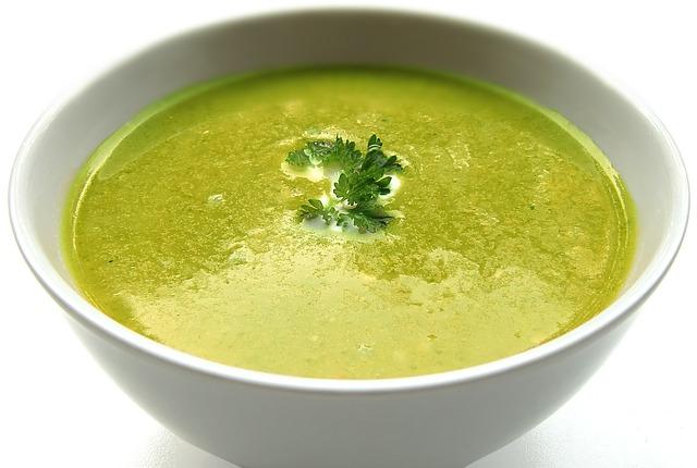 Soupe aux légumes et à la crème