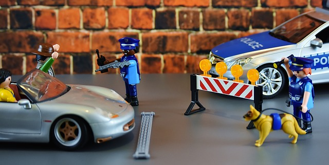 Playmobil, la police intervient